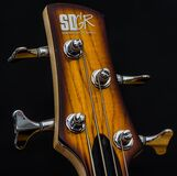 Wood guitar struts