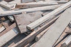 Wood hög Arkivfoton