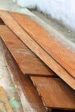 Wood hög för konstruktionen Royaltyfria Foton