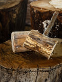 Wood Hammer. Royalty Free Stock Photography