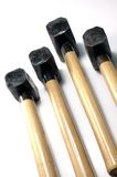 Wood Hammers Stock Photo
