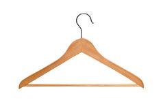 Wood hanger Royalty Free Stock Photography