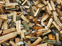 Wood. Harvested for the winter Royalty Free Stock Images