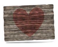 Wood Heart Stock Photo