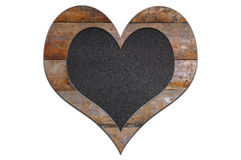 Wood heart. Stock Images