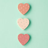 Wood Hearts Royalty Free Stock Images