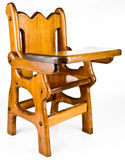 Wood High Chair Stock Photos