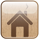 Wood home Royalty Free Stock Images