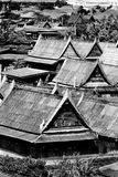 Wood home of thai style Royalty Free Stock Photo