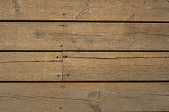 Wood. Horizontal wooden planks taken from above Stock Photo