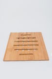 Wood Hotplate Stock Image