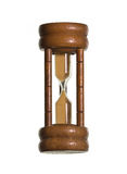 Wood hourglass Stock Image