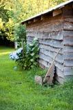 Wood house Stock Image