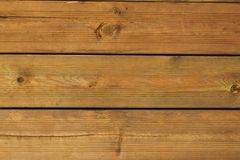 Wood sheets background. Wooden house texture wallpaper Stock Photography
