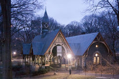 Wood House in Central Park New York City Royalty Free Stock Photography