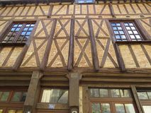Wood house. A detail of a wood house Royalty Free Stock Photo