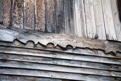 Wood house detail Stock Photos