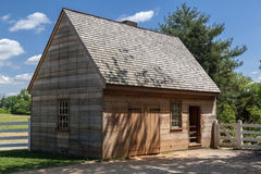 Wood House Mount Vernon Washington Stock Photo