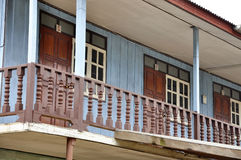Wood House Old Thailand Retro Vintage Royalty Free Stock Photo
