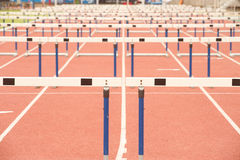 Wood for Hurdles. Stock Image
