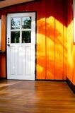 Wood hus Royaltyfri Fotografi
