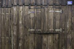 Shed in wood, France Royalty Free Stock Images