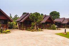 Wood hut, Thailand Royalty Free Stock Photo