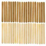 Wood ice-cream stick Royalty Free Stock Images