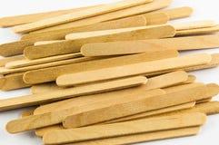 Wood ice-cream stick Stock Photo