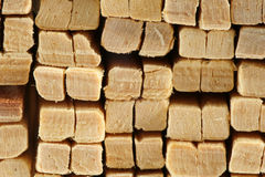 Wood In Stack Royalty Free Stock Image