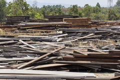 Wood industry Stock Image
