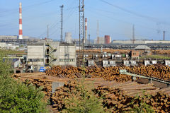 Wood industry Royalty Free Stock Images
