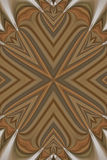 Wood Inlay Abstract Stock Photo