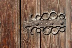 Wood, Iron, Carving, Wood Stain royalty free stock images