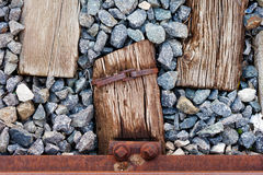 Wood Iron and Stone Stock Photography
