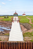 Wood Island Lighthouses Royalty Free Stock Photo