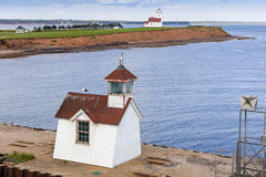 Wood Island Lighthouses Stock Photo
