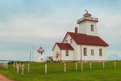 Wood Islands Lighthouse Museum Royalty Free Stock Image