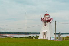 Wood Islands Lighthouse Royalty Free Stock Photos