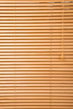 Wood jalousie close up Royalty Free Stock Photo