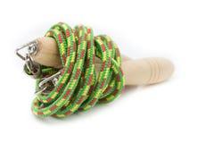 Wood jump rope Royalty Free Stock Image