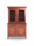Wood kabinett möblemang Arkivfoto