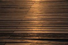 Wood kaj Royaltyfri Foto