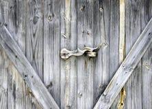 Wood key of door Stock Images