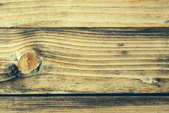 Wood knot in horizontal section Stock Photos