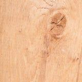 Wood knuten texturbakgrund Arkivfoton