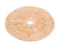 Wood korggnäggande som är trä i handgjord 45 grad sikt Arkivbild