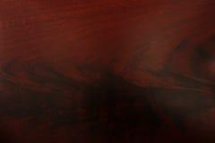 Wood korntextur för mahogny Royaltyfri Foto