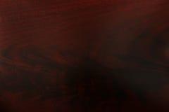 Wood korntextur för mahogny Royaltyfria Bilder