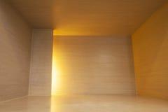 Wood korridor arkivbilder